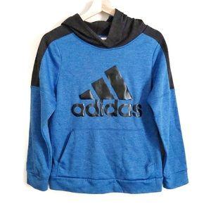 Adidas Boy Blue & Black Hoodie